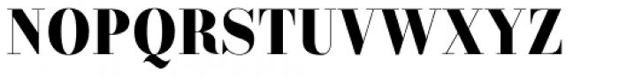 Labernia TitCond Black Font UPPERCASE