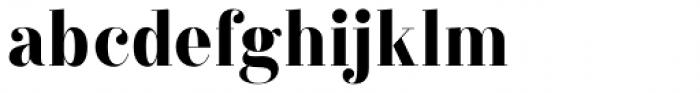 Labernia TitCond Black Font LOWERCASE