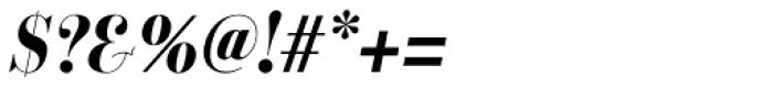 Labernia TitCond Bold Italic Font OTHER CHARS