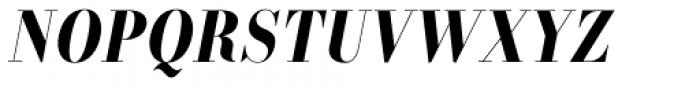Labernia TitCond Bold Italic Font UPPERCASE