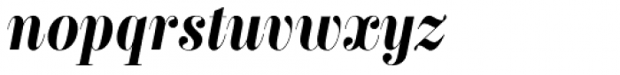 Labernia TitCond Bold Italic Font LOWERCASE
