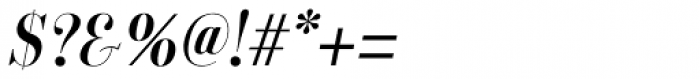 Labernia TitCond Regular Italic Font OTHER CHARS