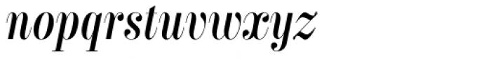 Labernia TitCond Regular Italic Font LOWERCASE