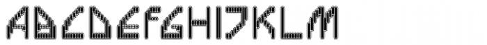 Labolg Inline Font UPPERCASE