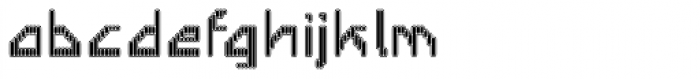 Labolg Inline Font LOWERCASE