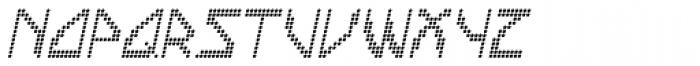 Labolg Italic Font UPPERCASE