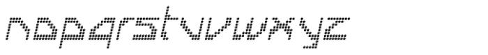 Labolg Italic Font LOWERCASE