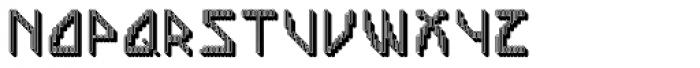 Labolg Negative Font UPPERCASE