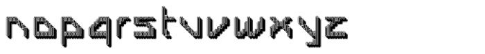 Labolg Negative Font LOWERCASE