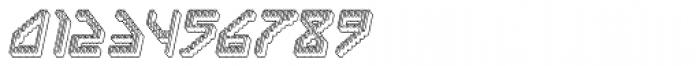Labolg Positive Italic Font OTHER CHARS