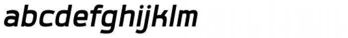 Labrador A Bold Italic Font LOWERCASE