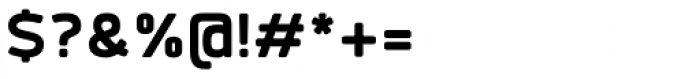 Labrador B ExtraBold Font OTHER CHARS