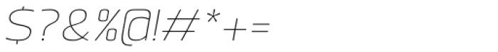 Labrador B Thin Italic Font OTHER CHARS