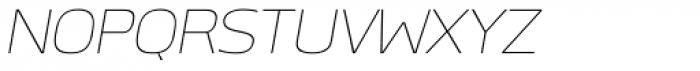 Labrador B Thin Italic Font UPPERCASE