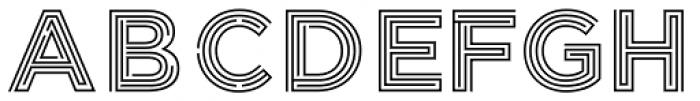 Labyrinthus Regular Font UPPERCASE
