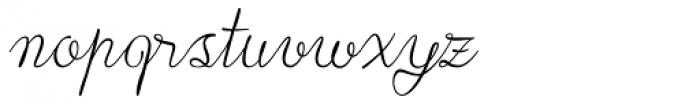 Lace Font LOWERCASE