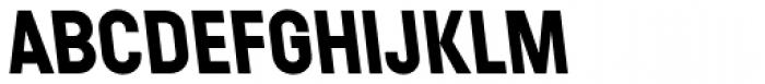Ladislav Bold Reversed Font UPPERCASE