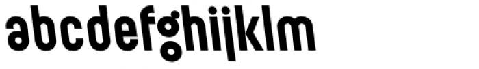 Ladislav Bold Reversed Font LOWERCASE