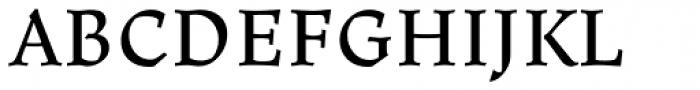 Ladoga Text Regular Font UPPERCASE