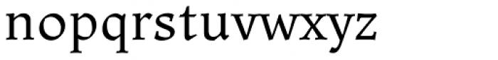 Ladoga Text Regular Font LOWERCASE