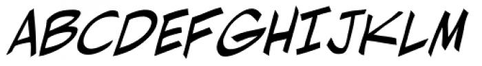 Ladronn Italic Font UPPERCASE