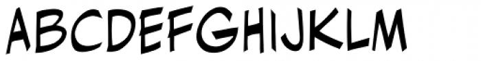 Ladronn Font LOWERCASE