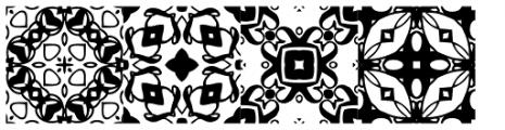 Lady Dodo Patterns Font OTHER CHARS