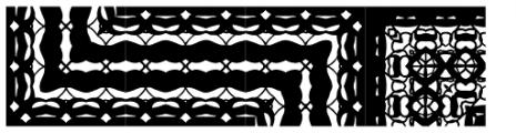 Lady Dodo Patterns Font UPPERCASE