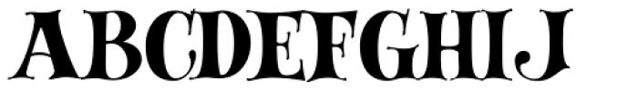 Lady Fair JF Font UPPERCASE