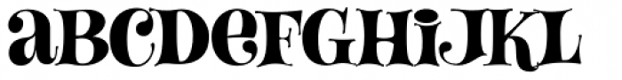 Lady Fair JF Font LOWERCASE