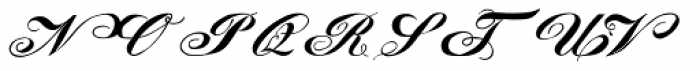 Lady Vittoria Smallcaps Font UPPERCASE