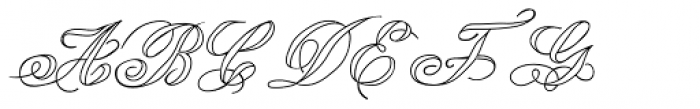 Lady Vittoria Voided Font UPPERCASE