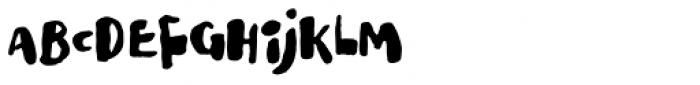 Ladybug Font UPPERCASE