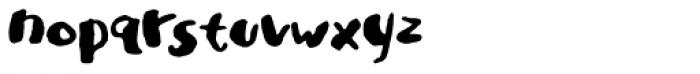 Ladybug Font LOWERCASE