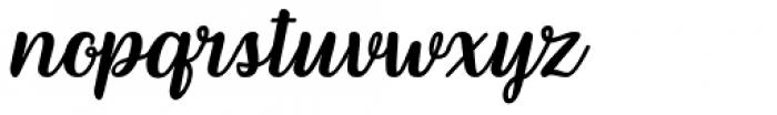 Lafesta Regular Font LOWERCASE