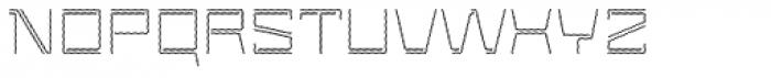Laftatic 4F Stripes Font UPPERCASE