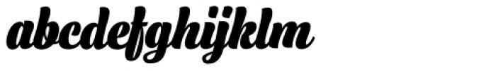 Lager Black Font LOWERCASE
