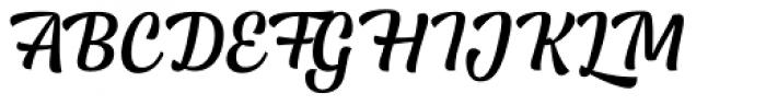 Lager Medium Font UPPERCASE