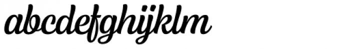 Lager Medium Font LOWERCASE
