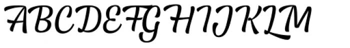 Lager Regular Font UPPERCASE