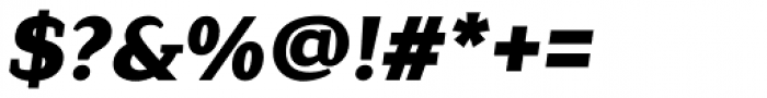 Lagu Serif Black Italic Font OTHER CHARS
