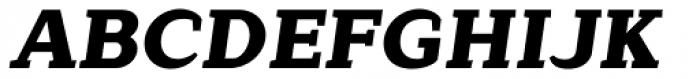 Lagu Serif Black Italic Font UPPERCASE