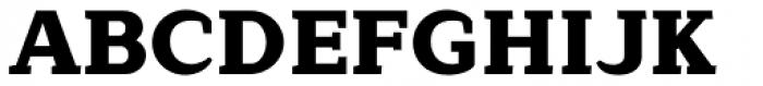 Lagu Serif Black Font UPPERCASE