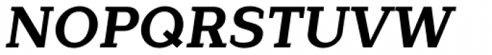 Lagu Serif Bold Italic Font UPPERCASE