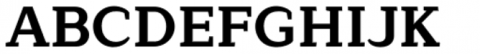 Lagu Serif Bold Font UPPERCASE