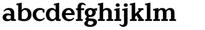 Lagu Serif Bold Font LOWERCASE