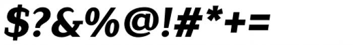 Lagu Serif Extra Bold Italic Font OTHER CHARS