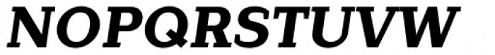 Lagu Serif Extra Bold Italic Font UPPERCASE