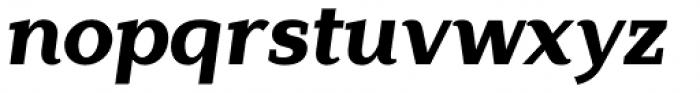 Lagu Serif Extra Bold Italic Font LOWERCASE