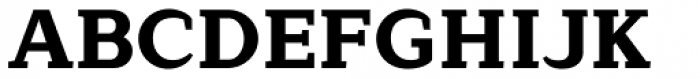 Lagu Serif Extra Bold Font UPPERCASE